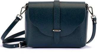 Atelier Hiva Midi Harmonia Leather Bag Petrol Blue
