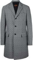 Tod's houndstooth coat - men - Polyamide/Polyester - M