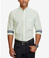 Nautica Gingham Long-Sleeve Woven Shirt