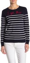BeachLunchLounge Got This Stripe Print Sweater