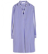 Thumbnail for your product : Loro Piana Limnos striped cotton shirt dress