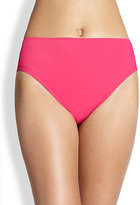 Gottex Swim Lattice High-Waisted Bikini Bottom
