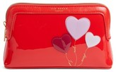 Ted Baker Heart Cosmetics Bag