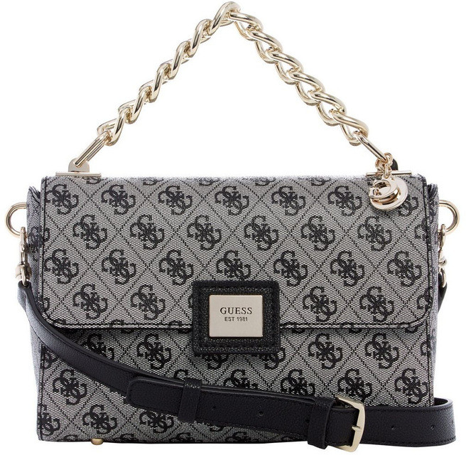GUESS SG766818BLA Candace Flap Over Crossbody Bag