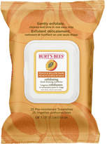 Burt's Bees Facial Cleansing Towelettes Exfoliating 25pc
