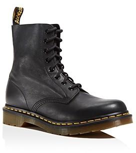 Dr. Martens Pascal Leather Combat Boots