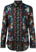 Roberto Cavalli floral print shirt - men - Cotton - 40