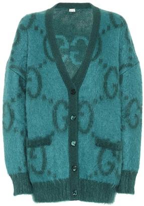 Gucci GG mohair-blend cardigan