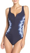 Miraclesuit Sound Waves Temptress One-Piece Swimsuit