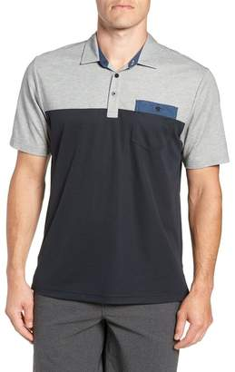 Travis Mathew Four B's Colorblock Polo