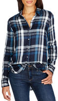 Lucky Brand Long Sleeve Plaid Shirt