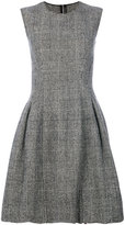 Ermanno Scervino plaid print flare skirt dress - women - Cupro/Virgin Wool - 38