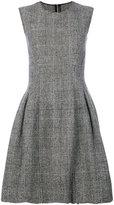 Ermanno Scervino plaid print flare skirt dress