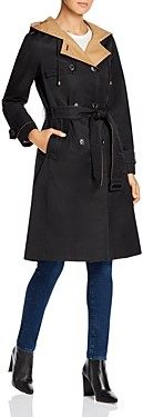 Kate Spade Contrast Lined Trench Coat