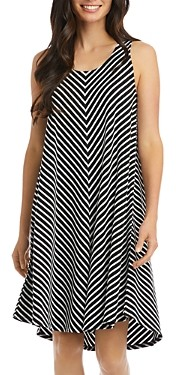 Karen Kane Striped Sleeveless Dress