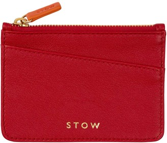 Stow Leather Coin Purse - Personalized
