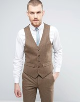 Harry Brown Donegal Wool Blend Waistcoat