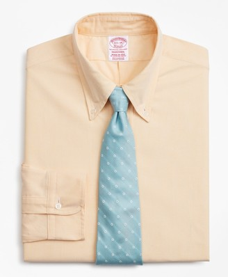 Brooks Brothers Original Polo Button-Down Oxford Traditional Relaxed-Fit Dress Shirt
