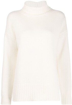 Pringle Guernsey-knit roll-neck sweater