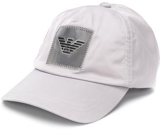Emporio Armani Logo Patch Baseball Cap
