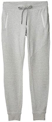Alo Urban Moto Sweatpants (Dove Grey Heather) Women's Casual Pants