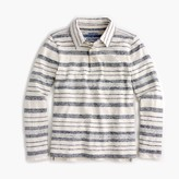 J.Crew Boys' long-sleeve heather-striped polo