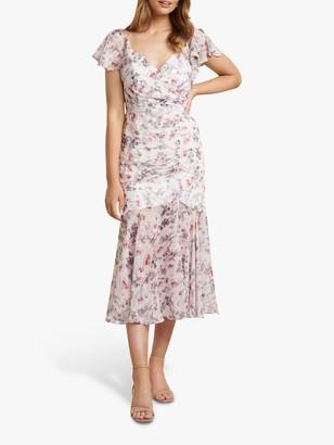 Forever New Azalea Floral Wrap Dress, Heavenly Bloom