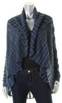 Lauren Ralph Lauren Womens Long Sleeves Open Front Cardigan Sweater