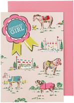 Cath Kidston Pony Greetings Card