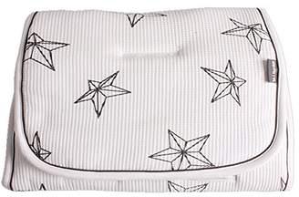 Minene Reversible Pushchair Liner, Cream with Stars
