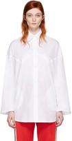 MM6 MAISON MARGIELA White Poplin Shirt