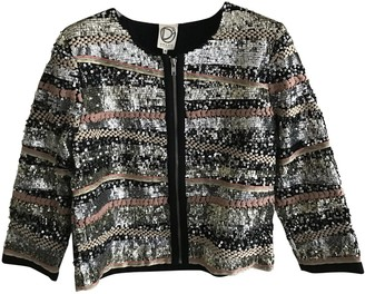 Dress Gallery Silver Glitter Jacket for Women