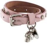 Alexander McQueen Skull Double Wrap Bracelet