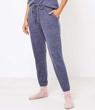 LOFT Embroidered Pajama Pants