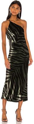 Mason by Michelle Mason Midi Dress With Back Cowl