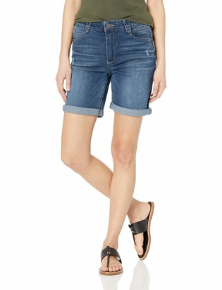 "Democracy Women's 7"" High Rise Ab Solution Short"