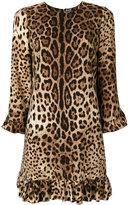 Dolce & Gabbana - leopard print dress