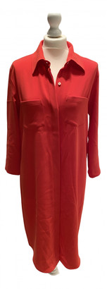 Alberto Biani Red Polyester Dresses