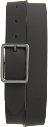 Nordstrom Peter Rubberized Leather Belt