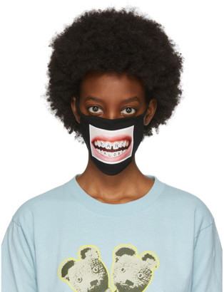 Marc Jacobs Black Hey-Reilly Edition Face Mask