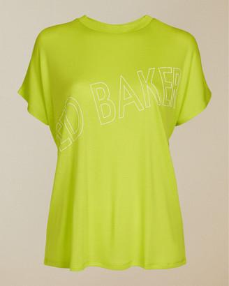 Ted Baker LAALI Lyocell logo t-shirt