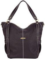 Timi & Leslie Marcelle 7-Piece Diaper Bag Set - Sand/Saddle