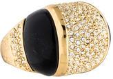 Rachel Zoe Resin & Crystal Dome Ring
