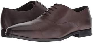 HUGO BOSS Highline Oxford by BOSS (Dark Brown) Men's Shoes