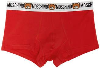 Moschino Red Bear Waistband Briefs