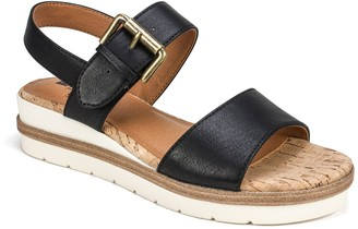 White Mountain Adjustable Platform Sandals - Newport