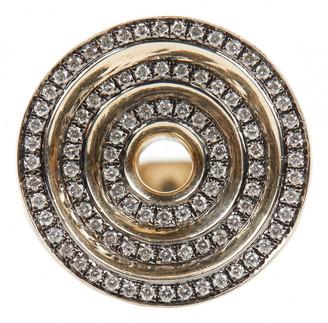 Noor Fares Grey Yellow gold Rings