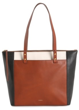 Fossil Ana Leather Tote