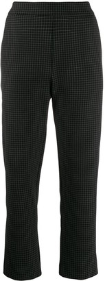 Piazza Sempione Check Tailored Trousers