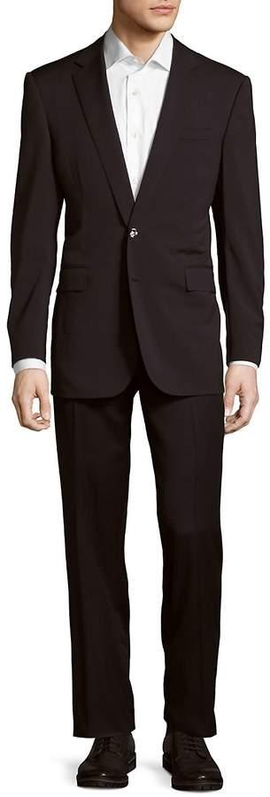 Ralph Lauren Men's Solid Notch-Lapel Wool Suit